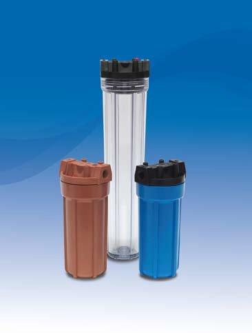 SPH Series Plastic Filter Housings