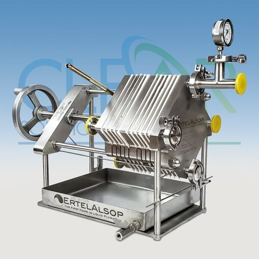 8D Plate and Frame Filter Press