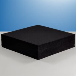 a stack of activated carbon filter sheets