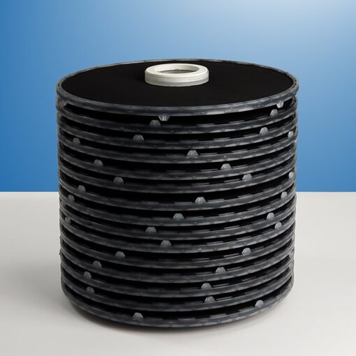 carbon lenticular filter with 15 cells